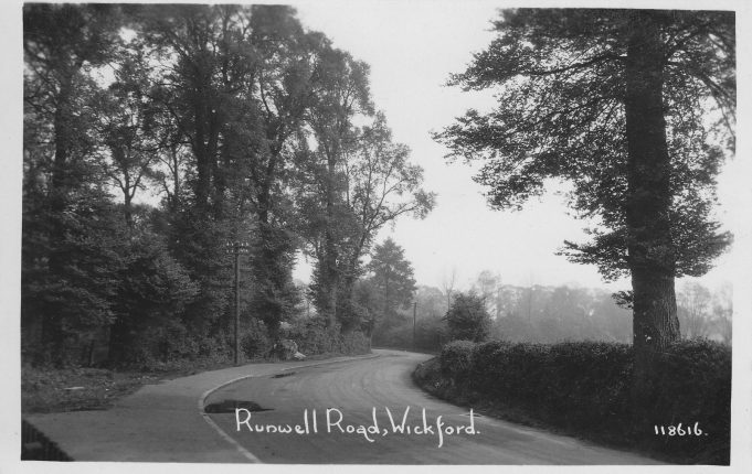 Runwell Road early 1920s | Marian Hurst