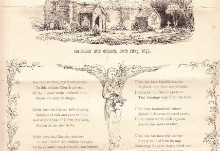 Wickford Old Church, 30 May 1873.
