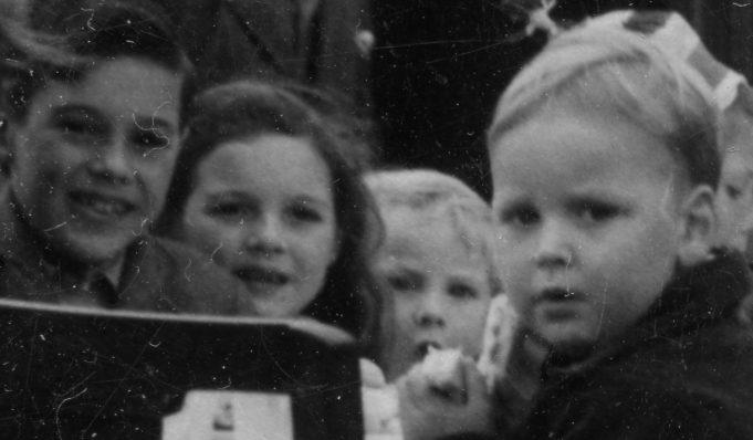 Second group of children from left | John Fuller