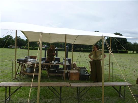 Women's Yeomanry tent | Jo Cullen