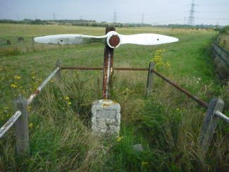 First World War Memorials (1) - 100 years since a crash over Shotgate, March 7th 1918.