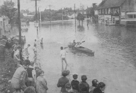 WICKFORD FLOOD - NEWSPAPER CUTTINGS (13)