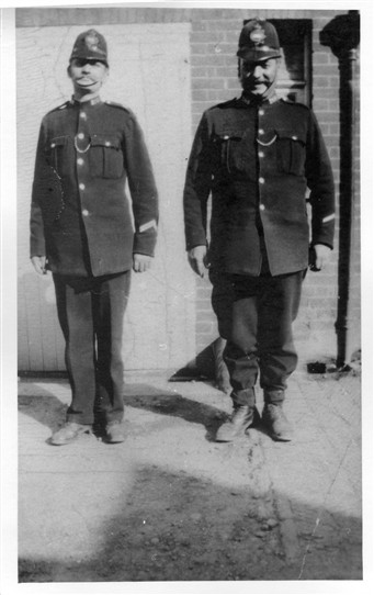 PC Bolden on the right | From the John Neville Collection