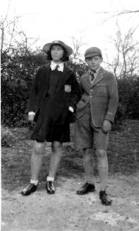 Peter's sister Betty and Peter