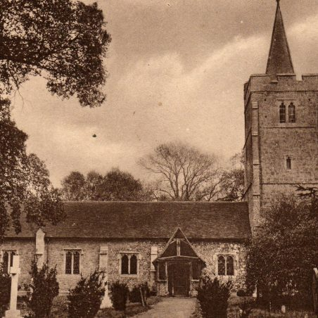 Undated postcard published by G.English, Wickford.