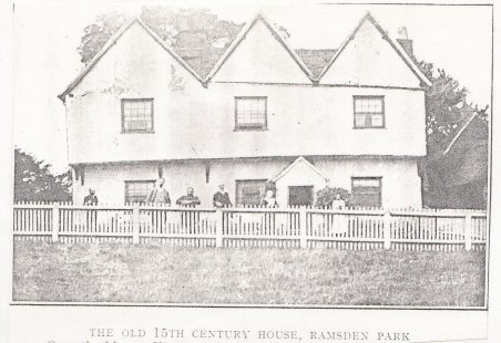 Ramsden Park House