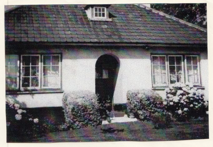 Fairholme - one of the original Homestead Ltd bungalows, 1961.