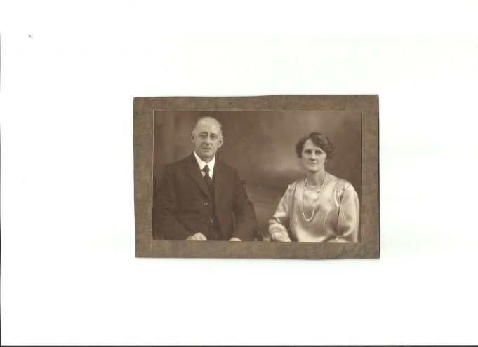 Rev. Potter and his wife, Fanny.