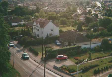 Views from St Mary's Church Tower, Runwell, 1989, (360 degrees)