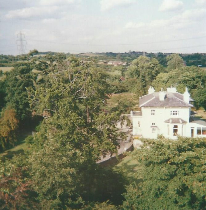 Views from St Mary's Church Tower, Runwell, 1989, (360 degrees)   David De'Ath
