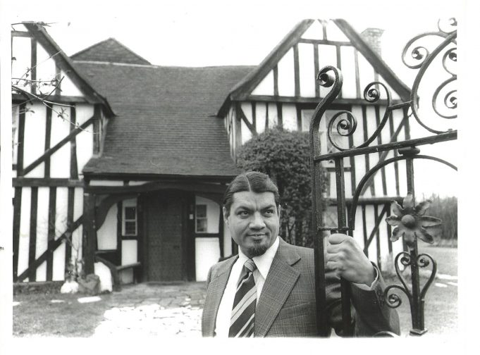 Mr Goff outside Burr Hall | Echo Newspapers