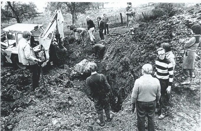 Digging up WW2 history   Essex Aviation Group