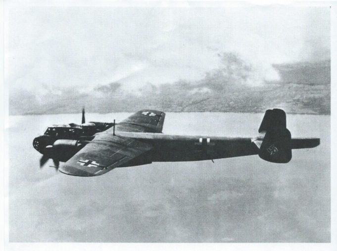 A Dornier similar to the one that crashed at Runwell Hospital | Essex Aviation Group