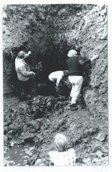 Excavating the site of the Dornier crash at Runwell Hospital | Essex Aviation Group
