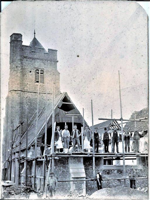 Working on Rettendon Church. | Andrew Hart