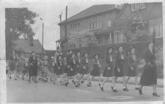 1st Wickford Guides and Brownies Late 1940s | Sheila Ford (nee Croot)