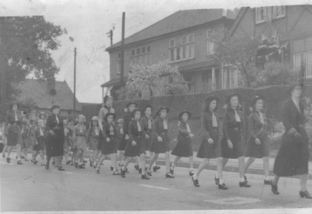 1st Wickford Guides and Brownies in the 1940s