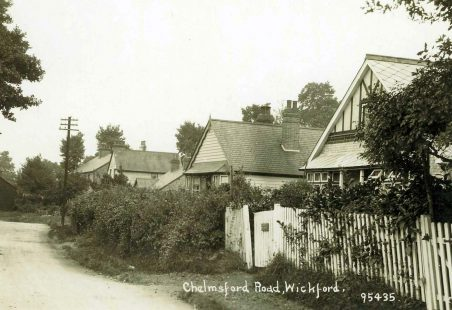 Chelmsford Road and Stock Road, (Wickford?)