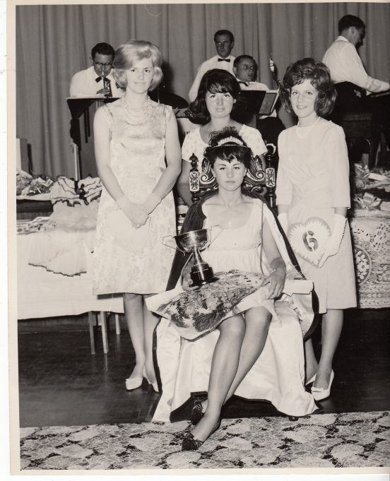 1964 Sandra Ellis is crowned Queen | Brenda Phillips