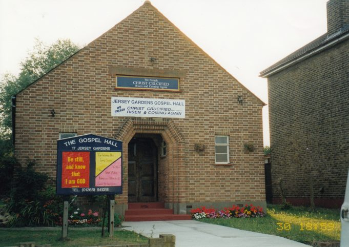 Jersey Gardens Gospel Hall 1990s | St Andrew's Church Collection