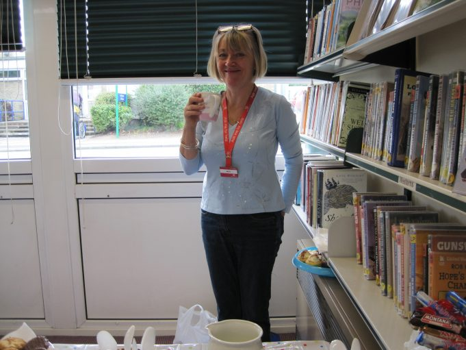 A nice cup of tea before the visitors arrive | Wickford library