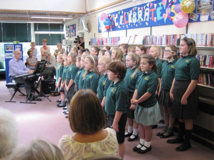 Wickford Junior School Choir | Wickford library