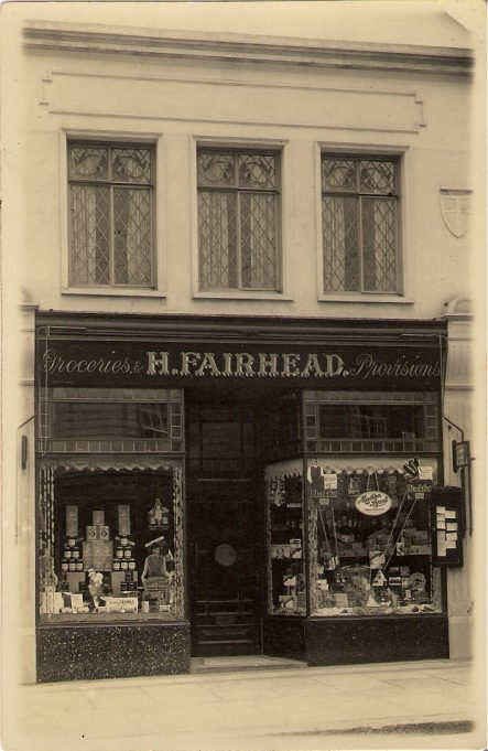 1920s photographs of shops in Wickford High Street. | Harry Ralph Hodd