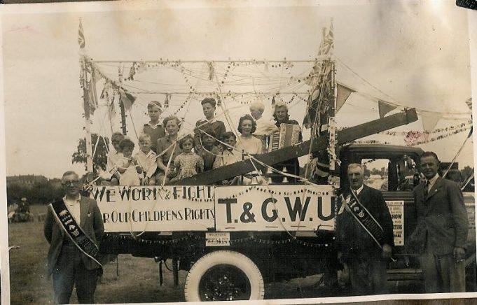 T & G.W.U.Carnival Float | Bob Croot