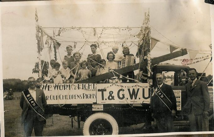 Transport and General Workers Union Float