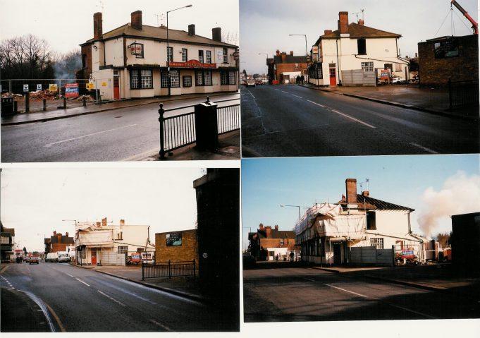 The Castle - destruction of a pub