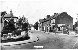 Wickford High Street circa 1940