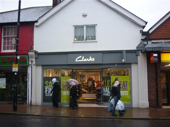Clarks shoe shop mow stands on the same site 2011 | Jo Cullen