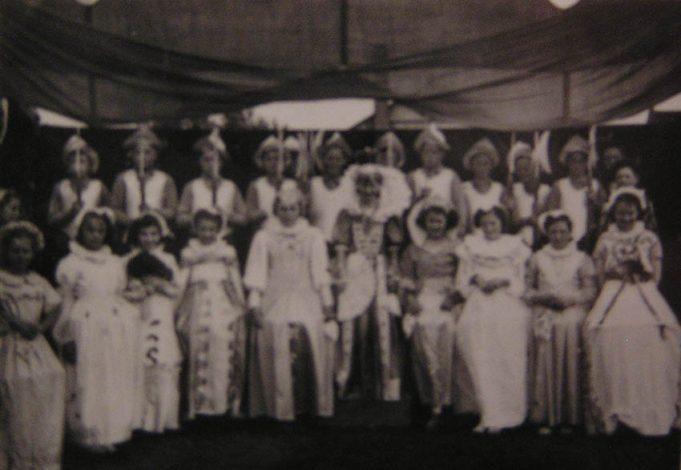 Wickford Junior School's Coronation Pageant | Basildon Heritage Collection
