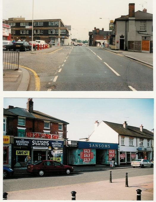 Wickford High Street in 1990
