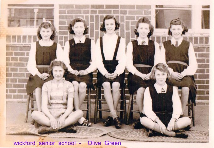 Wickford Senior School - Olive Green bottom right