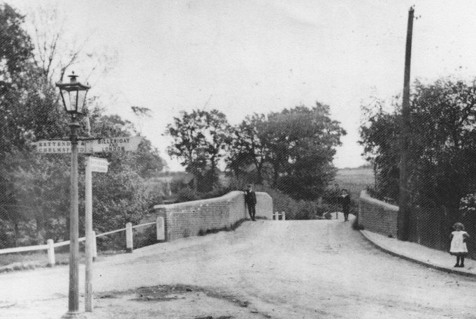 The hump back bridge, early1900s | Donated by Mrs B. Foward