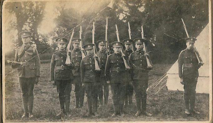 Wickford territorial WW1 (?)