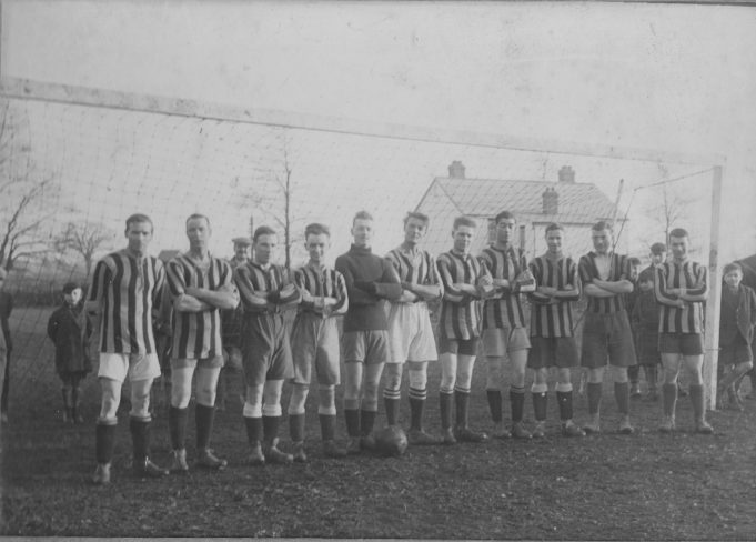 Wickford Town Football Team, circa 1927. Mr White is 5th from right, Alf Fairey is 4th from right. | Barry White