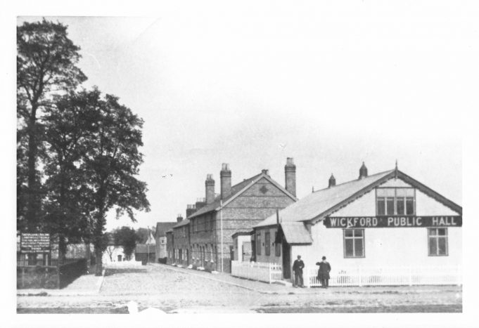 Photograph of Wickford Public Hall, c1910 | From the private collection of Chris Hall