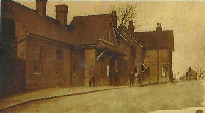 Wickford Station around 1910.