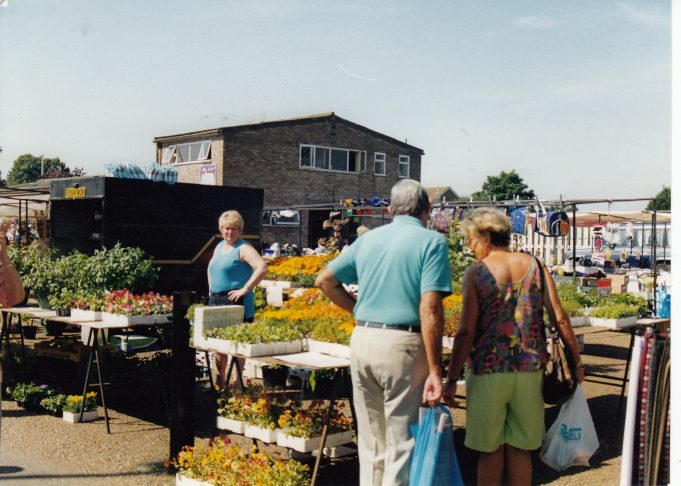 Wickford Market Flower Stall | St Andrew's Church Collection