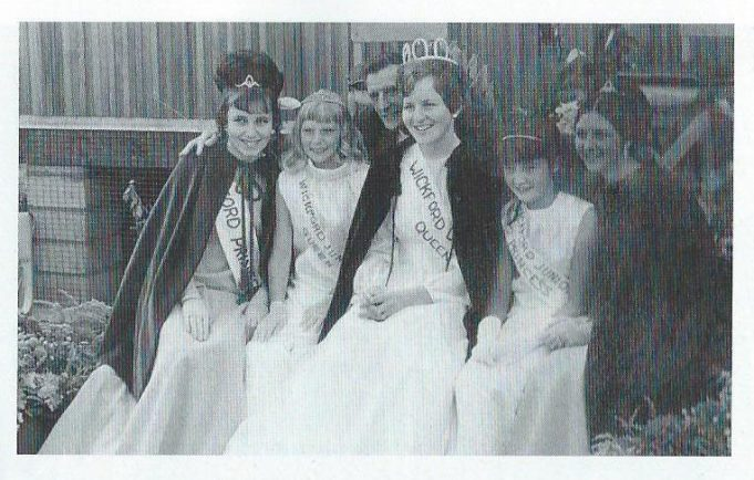 1969 Junior Queen Shelley Mole no names for other queens