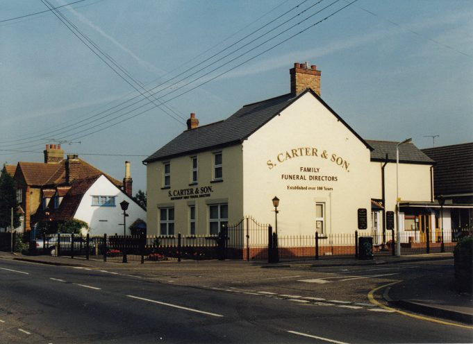Carter's and Son Funeral Directors, London Road | St Andrew's Church Collection