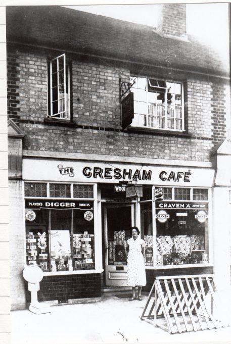 Gresham Cafe | Isobel Johnson Collection