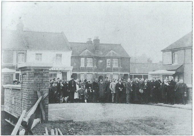 Opening Southend Road Bridge 1915 | Basildon Heritage