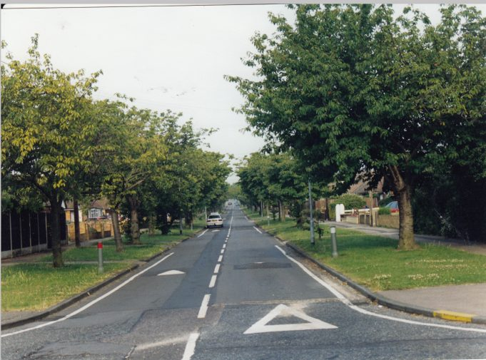 Elder Avenue, off Nevendon Road. | St Andrew's Church Collection