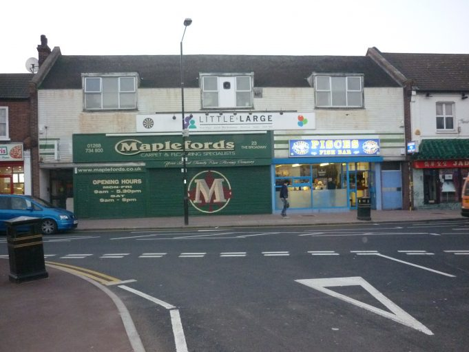 The same shop in 2011 | Basildon Heritage