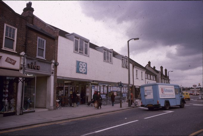 The Co-op shop, in the Broadway, Wickford | Basildon Heritage