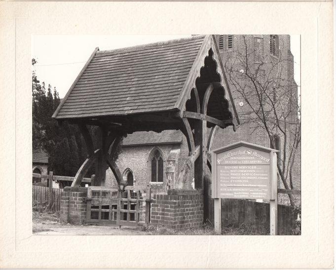 The lytch gate | Downham Church Collection