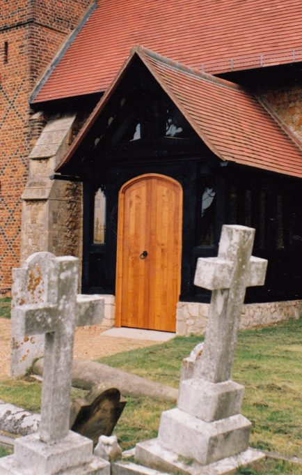The new porch | Downham Church Collection